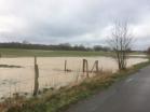 Sturmfolgen - Überflutung der Felder