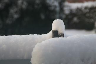 Schnee im Winter 2018