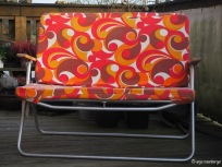 70er Camping Sofa