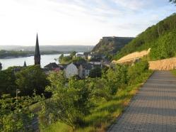 Radwanderweg Koblenz Vallendar Ehrenbreitstein