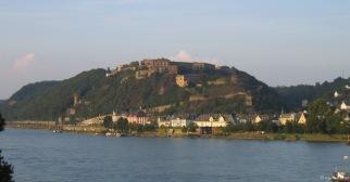 Panorama Ansicht Ehrenbreitstein