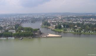 Deutsches Eck Mündung Mosel in Rhein