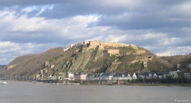 Panorama Ansicht Ehrenbreitsstein