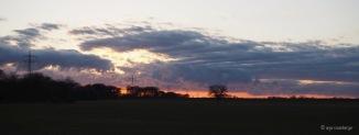 Wolken Sonnenuntergang