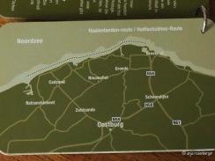 Haifischzähne-Route in Zeeuws-Vlaanderen Zeeland